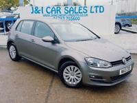 VOLKSWAGEN GOLF 1.6 S TDI BLUEMOTION TECHNOLOGY 5d 103 BHP A GREAT (grey) 2013