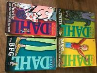 4 x Roald Dahl paperbacks