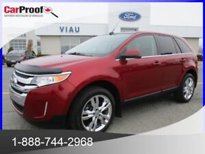 2014 FORD EDGE AWD LIMITED LIMITED*CUIR*TOIT PANO*GPS*SYNC*CERTI