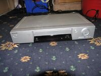 Sanyo VHS Video Player and 30 VHS Tapes Weymouth