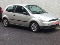 2004 FORD FIESTA 1.25 FINESSE PART EXCHANGE TO CLEAR CHEAP CAR