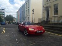 1999 Mazda MX5 1.8i Convertible Sports Car - Red