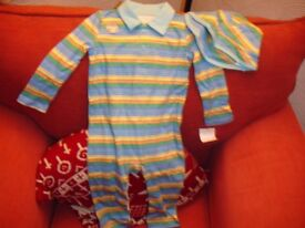 Boy Baby Grow Set----Brand New with Tags age 12-18months