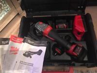 Milwaukee M18 Fuel Brushless Grinder