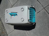 Portable dog carrier crate