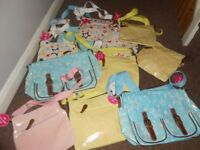 womens/girls joblot of new handbags with tags various colours and designs approx 80 bags