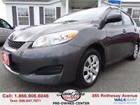 2013 Toyota Matrix AWD $130.14 BI WEEKLY!!!