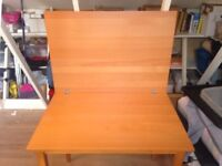 Extendable Beechwood Dining/Craft/Sewing Table