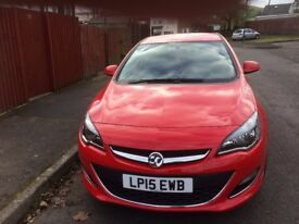 Vauxhall Astra 1.6 SRI 2015,red,fsh only 10,500 miles