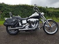 2003 HARLEY DAVIDSON WIDE GLIDE 1450CC 100th ANNIVERSARY MODEL