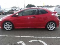 2010 10 HONDA CIVIC 2.0 I-VTEC TYPE-R GT 3D 198 BHP **** GUARANTEED FINANCE **** PART EX WELCOME