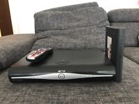 Sky + HD box with remote and Sky router