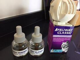 Feliway Diffuser with Friends & Classic refills