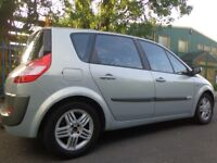 53 reg 6 speed renault megane scenic 2.0 with 11 months mot+half leathers DRIVEAWAY OR FREE DELIVERY