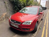 FORD FOCUS 2007, DIESEL 2.0 RED 5DR BREAKING FOR PARTS