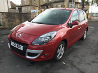2011 Renault Scenic Dynamique 1.5 dCi, 54,600 Miles, 12 Months MOT, Tom Tom Edition, Drive Away