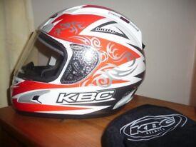 KBC Motorcycle Helmet XL Excellent Condition