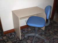 Small Desk and chair £20