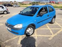 Vauxhall corsa 1.0 full mot drives great only 69k 2 lady owners
