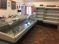 Refrigerated Display Units (x2)