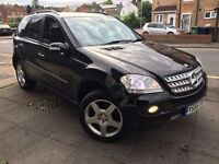 2005 MERCEDES ML 320 CDI SPORT 7G-TRONIC BLACK + NEW SHAPE MODEL
