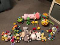 **VARIOUS BABY/TODDLER TOYS**