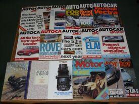 Motor and Motorsport Magazines