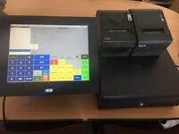Touchscreen EPoS Till system x6