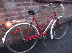 Ladies 1958 Retro Philips City Bike, all original