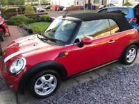 Mini Cooper 1.6 Convertible 59 plate 122bhp