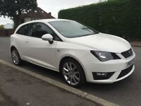 63 SEAT IBIZA FR TSI 1.2 WHITE SPORT CAT D LOW INSURANCE GROUP EXCELLENT CONDITION