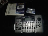 BOSS BR900CD With 2 Memory Cards Instruction Manual And Sealed DVD Plus All Cables