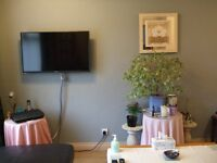 Comfortable double room single occupancy in detached house. Use of kitchen and livingroom.