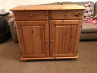 Ikea Wooden Storage Cabinet/Small Sideboard