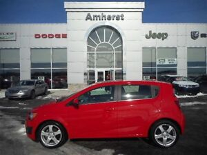 2016 Chevrolet Sonic LT HATCHBACK, SUNROOF, BACKUP CAMERA