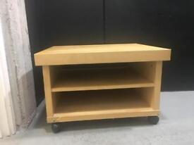 Rolling tv cabinet