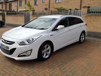 Hyundai i40 White (stop/start)