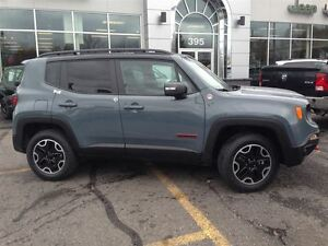 2016 Jeep Renegade Trailhawk +4X4, Cuir, Hitch, Nav+