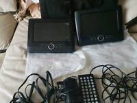 Twin Portable DVD Player