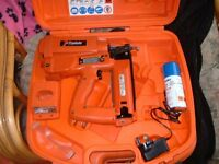 paslode im250 second fix nail gun and accesorys