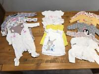 Girls 3-6 month bundle inc. coats and outfits