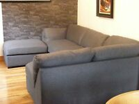 grey corner sofa brand new!!