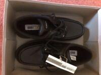 US Brass Men's Black Shoes