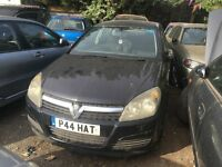 VAUXHALL ASTRA CLUB CDTI 2005- FOR PARTS ONLY