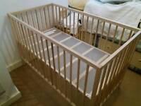 Ikea snigler baby bed