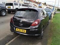 Vauxhall Corsa limited Black Edition 1.4 turbo 62 plate