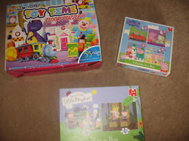 3 Childrens Puzzles Age 3 +