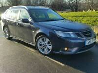 2011 SAAB 9-3 1.9 TTID4*TURBO EDITION*SPORT WAGON*FSH*LEATHER*H/SEATS*CHEAP TAX+INS*#AUDI#BMW#VECTOR