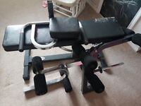 ironmaster super bench & weights
