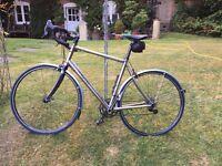 Enigma Etape Road Bike custom built titanium frame.